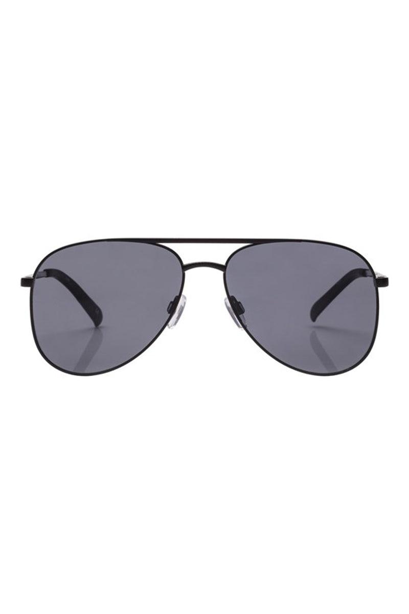 LE SPECS Kingdom Sunglasses - Matte Black Sunglasses | Matte Black| Le Specs Kingdom Sunglasses