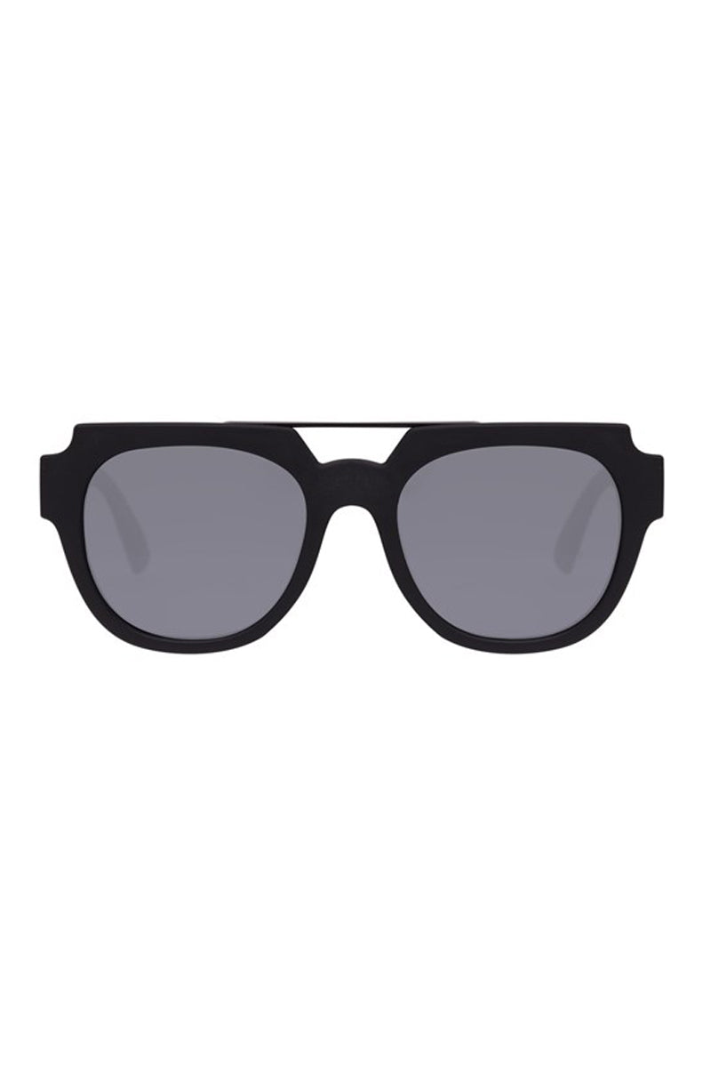 LE SPECS La Habana Sunglasses - Black Rubber Sunglasses   Black Rubber  Le Specs La Habana Sunglasses
