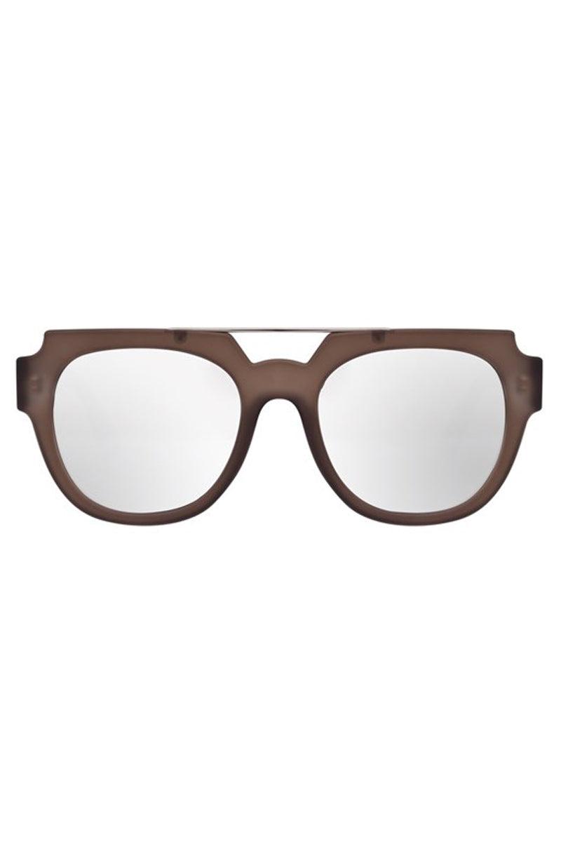LE SPECS La Habana Sunglasses - Mocha Rubber Sunglasses   Mocha Rubber  Le Specs La Habana Sunglasses