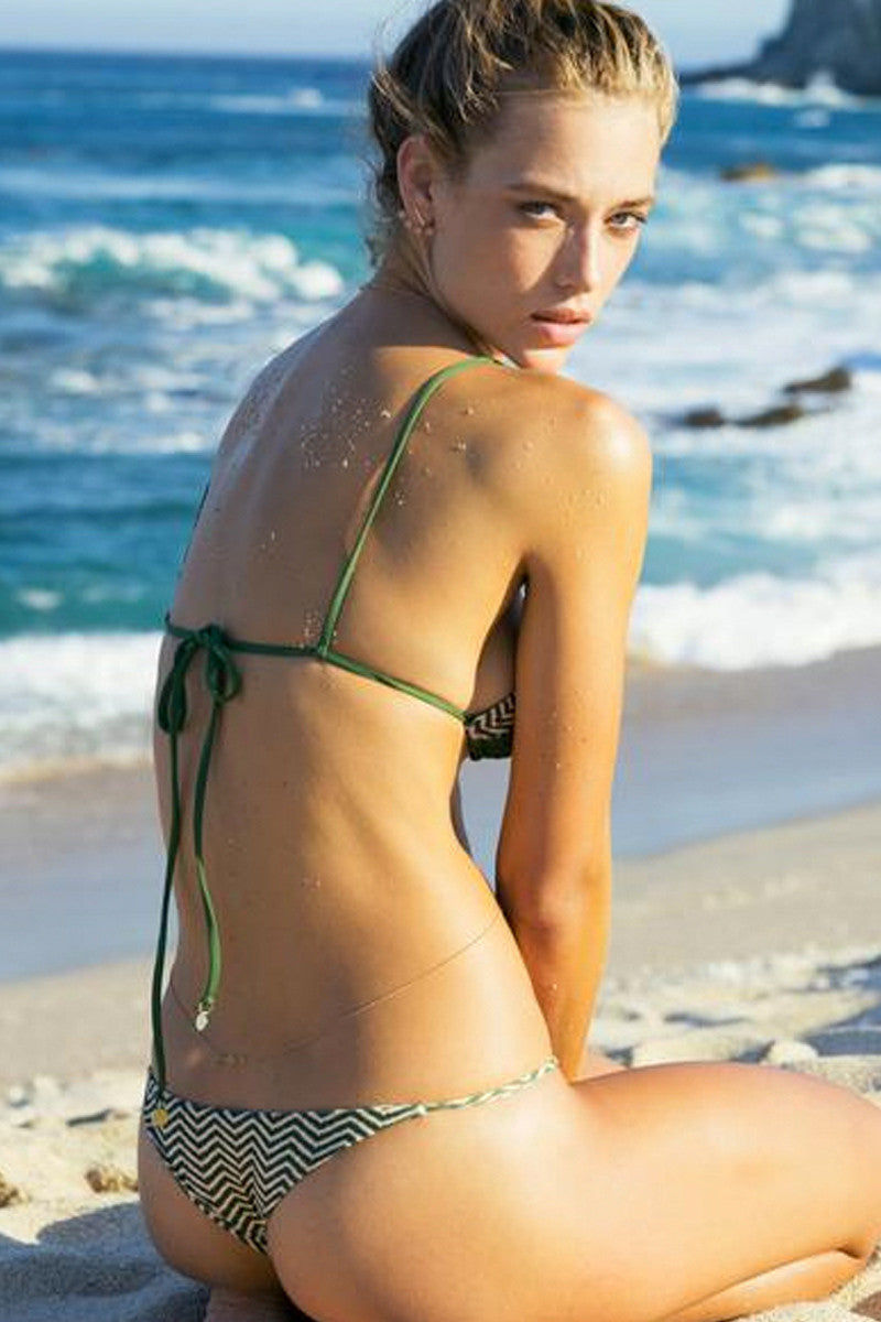 TORI PRAVER Lahaina Top Bikini Top | Ziggy Cactus| Tori Praver Lahaina Top
