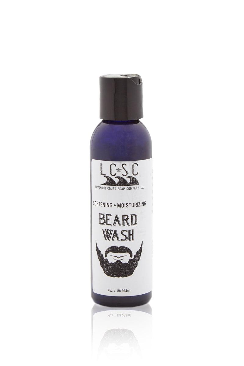 LAVENDER COURT SOAP CO. Beard Wash (Men's) Mens Beauty | Beard Wash| Lavender Court Soap Co Beard Wash (Men's). Front View.