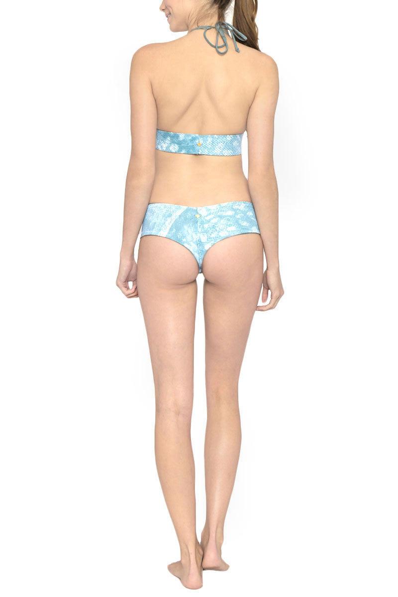 LES COQUINES Chloe Reversible Low Rise Bikini Bottom - Moonstone/Wave Bikini Bottom | Moonstone/Wave| Les Coquines Chloe Reversible Bottom
