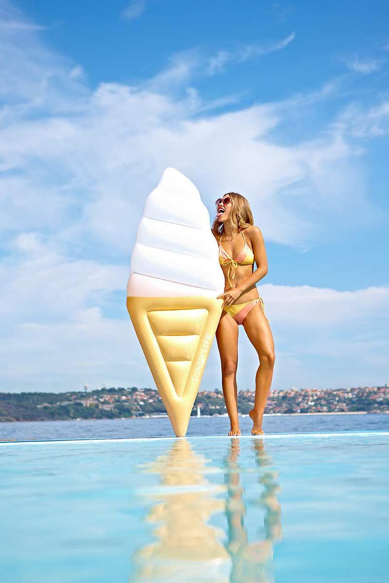SUNNYLIFE Lie-On Ice-Cream Float Pool Accessories   Ice Cream  Sunnylife Lie on Ice Cream Float