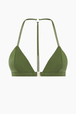 FELLA Louis The II Top - Olive Bikini Top | Olive | Fella Louis The II Top - Olive front view