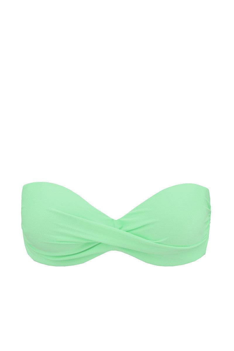 LULI FAMA Cosita Buena Push Up Underwire Bikini Top - Mint Convertible Bikini Top | Mint Convertible|