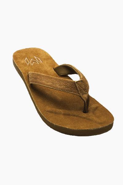 MALVADOS Jack Suede Slides (Men's) - Cigar Mens Sandals | Cigar|