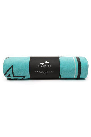 SLOWTIDE Mission Towel Towel | Mission| Slowtide Mission Towel Rolled View