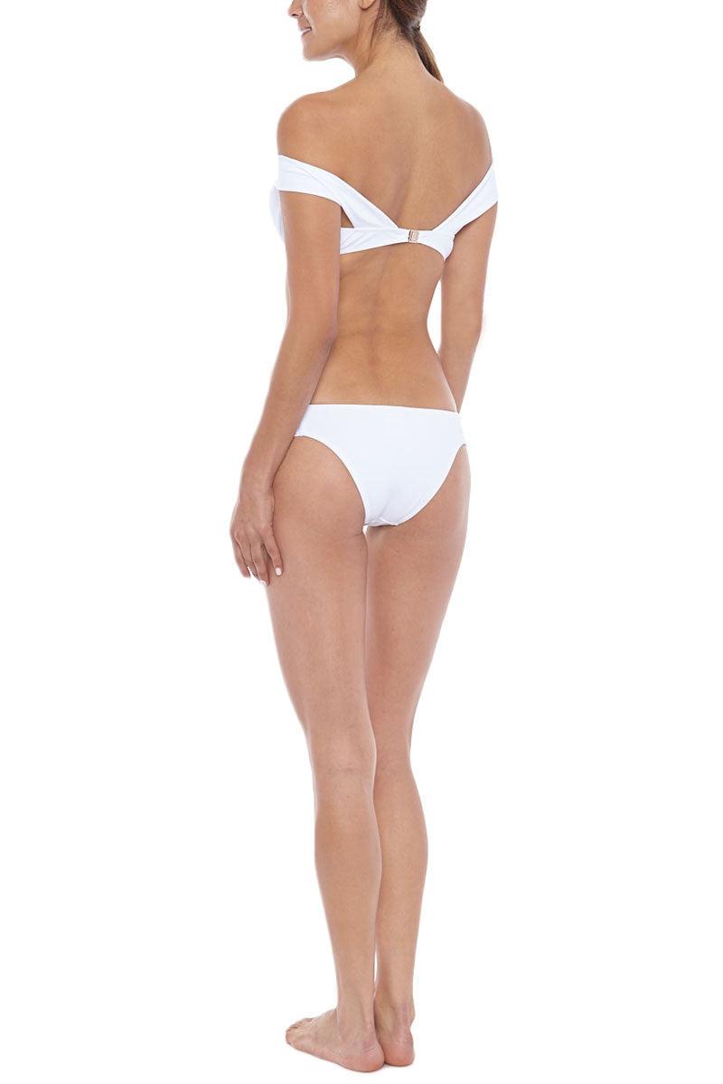 MOEVA Rebecca Bikini Bottom - White Bikini Bottom | White| MOEVA Rebecca Bikini Bottom