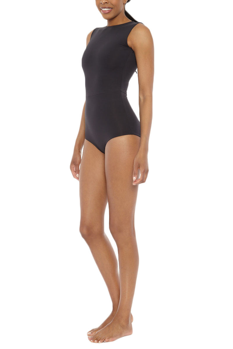 MYMARINI Reversible Outfit One Piece - Black/Navy One Piece | Black/Navy| MYMARINI Reversible One Piece