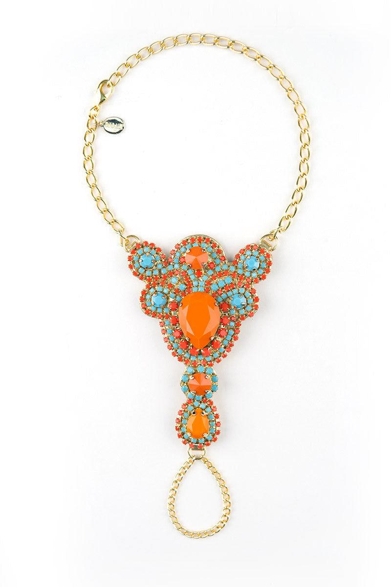 MYSTIQUE Azteca Chic Foot Jewelry Set Jewelry | Gold & Aztec|