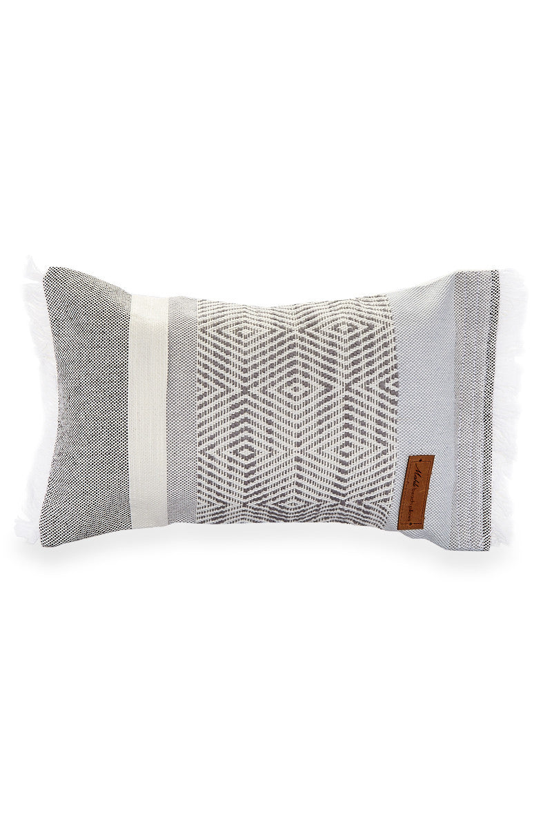 in chevron home grey beach tropical cushions stripe garden pillow coastal nautical silver white pillows pin