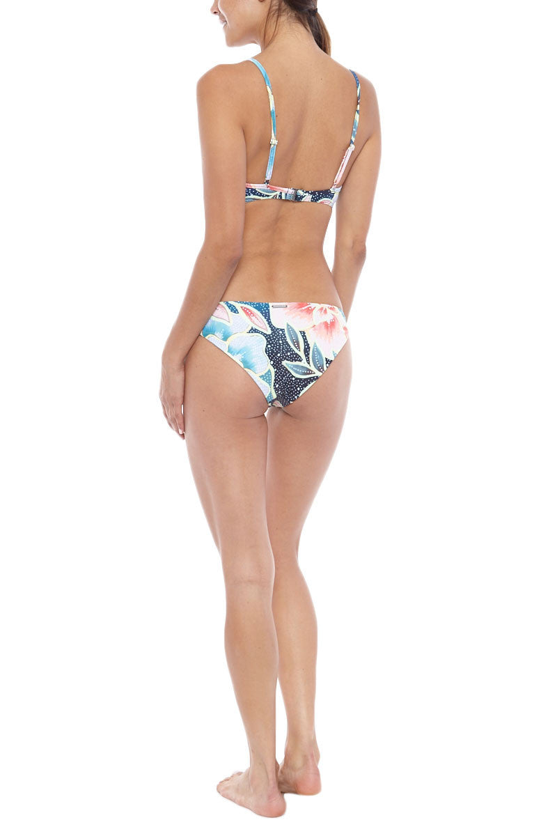 MARA HOFFMAN Cropped Cami Bikini Top - Arcadia Indigo Bikini Top | Arcadia Indigo| Mara Hoffman Cropped Cami
