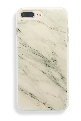 CASERY White Marble iPhone 6s/7/8 Plus Phone Accessories | White Marble| Casery White Marble iPhone 6s/7/8 Plus