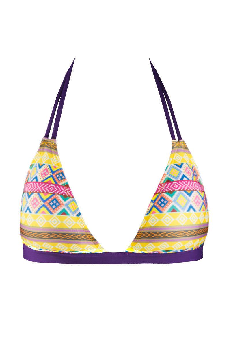 SOLKISSED Mariel Top Bikini Top | Amarillo|