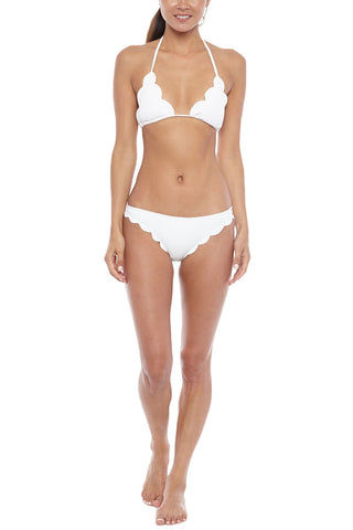 MARYSIA Broadway Moderate Bikini Bottom - Coconut Bikini Bottom | Coconut|Marysia Broadway Bikini Bottom