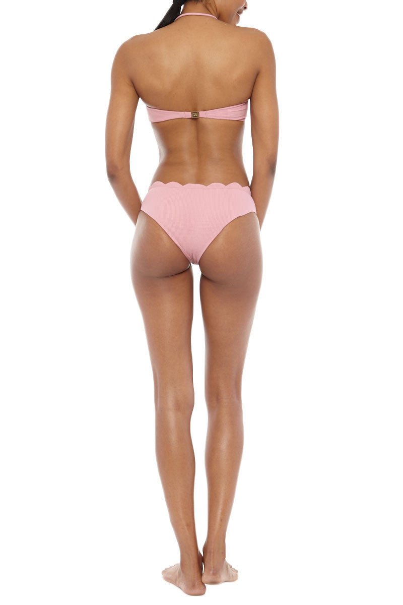 MARYSIA Lafayette Cut-Out Monokini One Piece Swimsuit - Peony Pink One Piece | Peony Pink| Peony Pink Lafayette One Piece