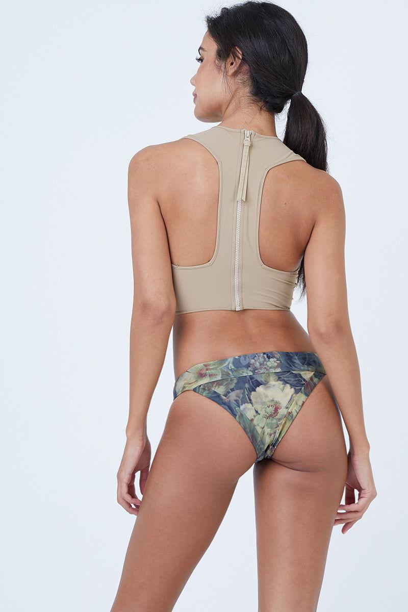 BOYS + ARROWS Scout Bikini Bottom - Everglade Bikini Bottom   Everglade   Boys + Arrows Scout Bikini Bottom Back View