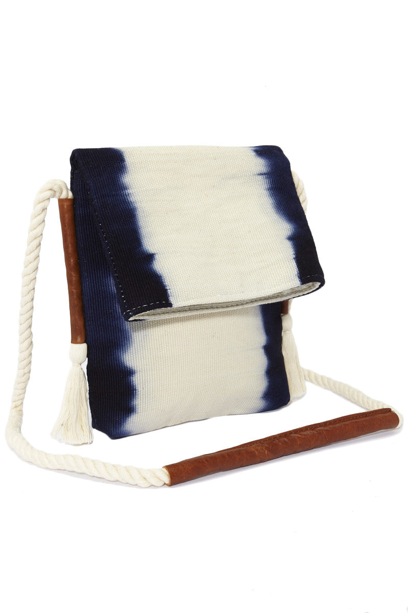Mercado Global Vivian Crossbody Bag - Ultramarine Stripes Bag | Ultramarine Stripes| Mercado Global Vivian Cross body