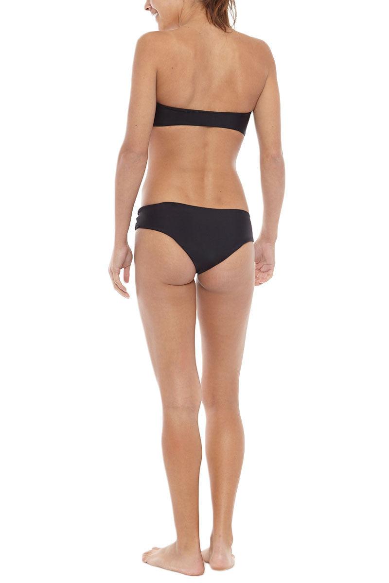 MIKOH Reunion V-Wire Bandeau Bikini Top - Night Bikini Top | Night | Mikoh Reunion Bikini Top