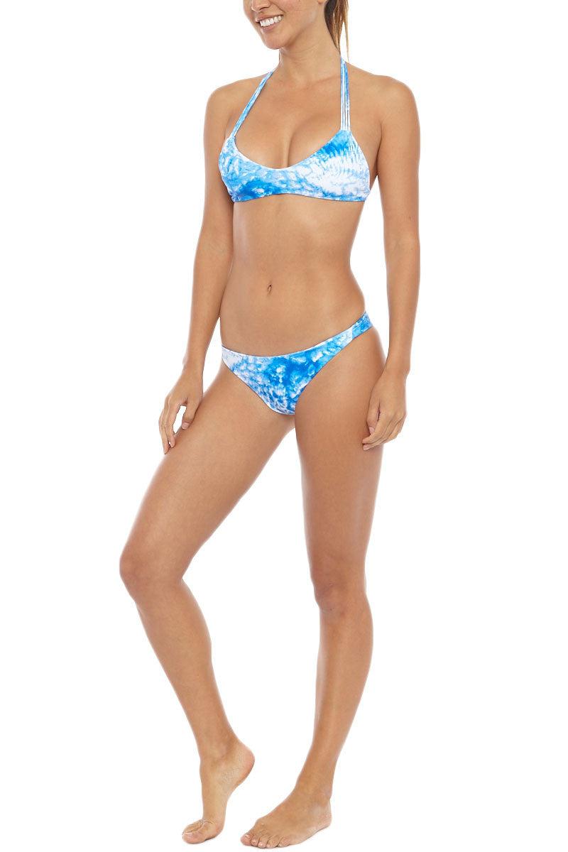 MIKOH Miyako Printed Bottom Bikini Bottom | Whitewater Fiji|Mikoh Miyako Printed Bikini Bottom