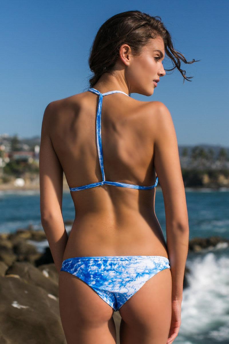 MIKOH Uluwatu T-Back Bralette Bikini Top - Whitewater Fiji Bikini Top | Whitewater Fiji|Giannina
