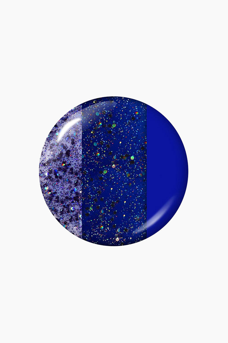 LONDONTOWN Minted In Style Nail Polish - Purple Glitter Nails | Blue|Minted In Style Nail Polish - Blue
