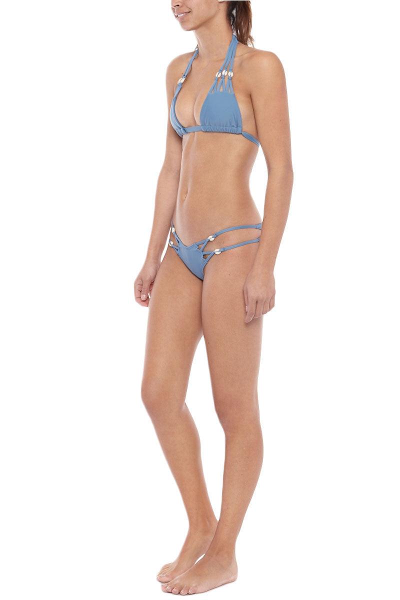 MONTCE SWIM Syd Shells Top Bikini Top | Hampton Blue| Montce Swim Syd Shells Bikini Top