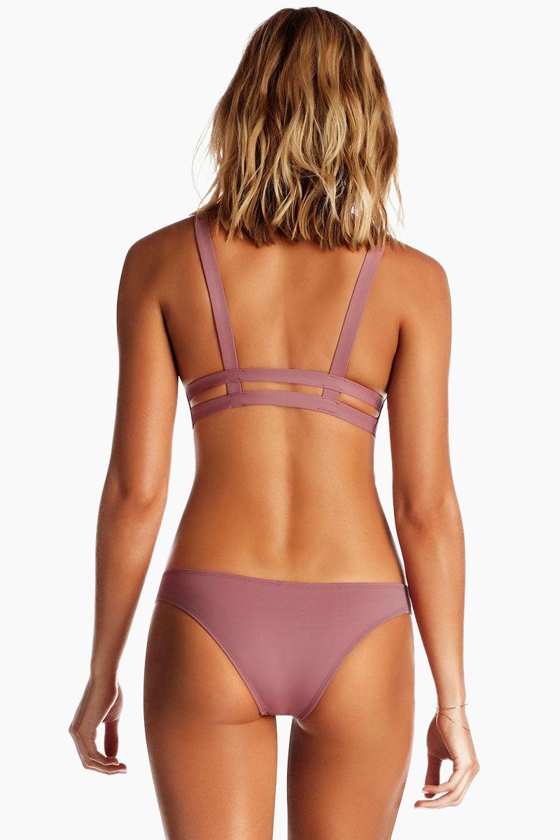 VITAMIN A Neutra Bralette Top - Dusty Rose Pink Bikini Top | Dusty Rose Pink |