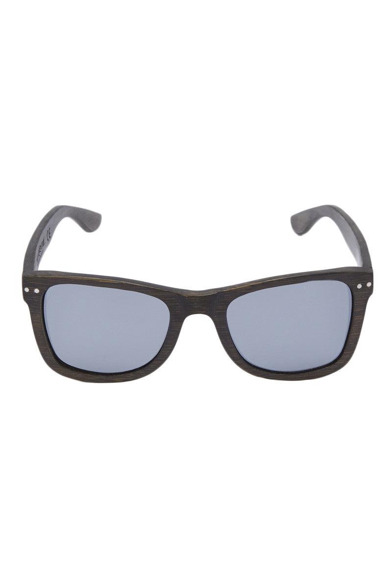 SURREAL SUNGLASSES Floating Full Bamboo Sunglasses Sunglasses | Charcoal| Surreal Sunglasses Floating Full Bamboo