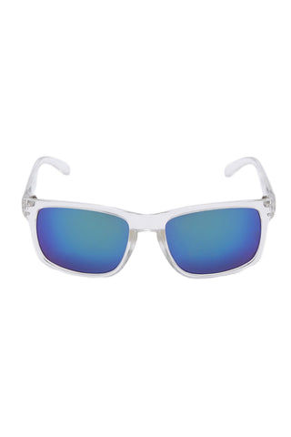 SURREAL SUNGLASSES Premium Classic Sunglasses Sunglasses | Clear/Blue| Surreal Sunglasses Premium Classic Sunglasses