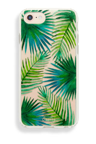 CASERY Palm Leaves iPhone 6s/7/8 Phone Accessories | Palm Leaves| Casery Palm Leaves iPhone 6s/7/8