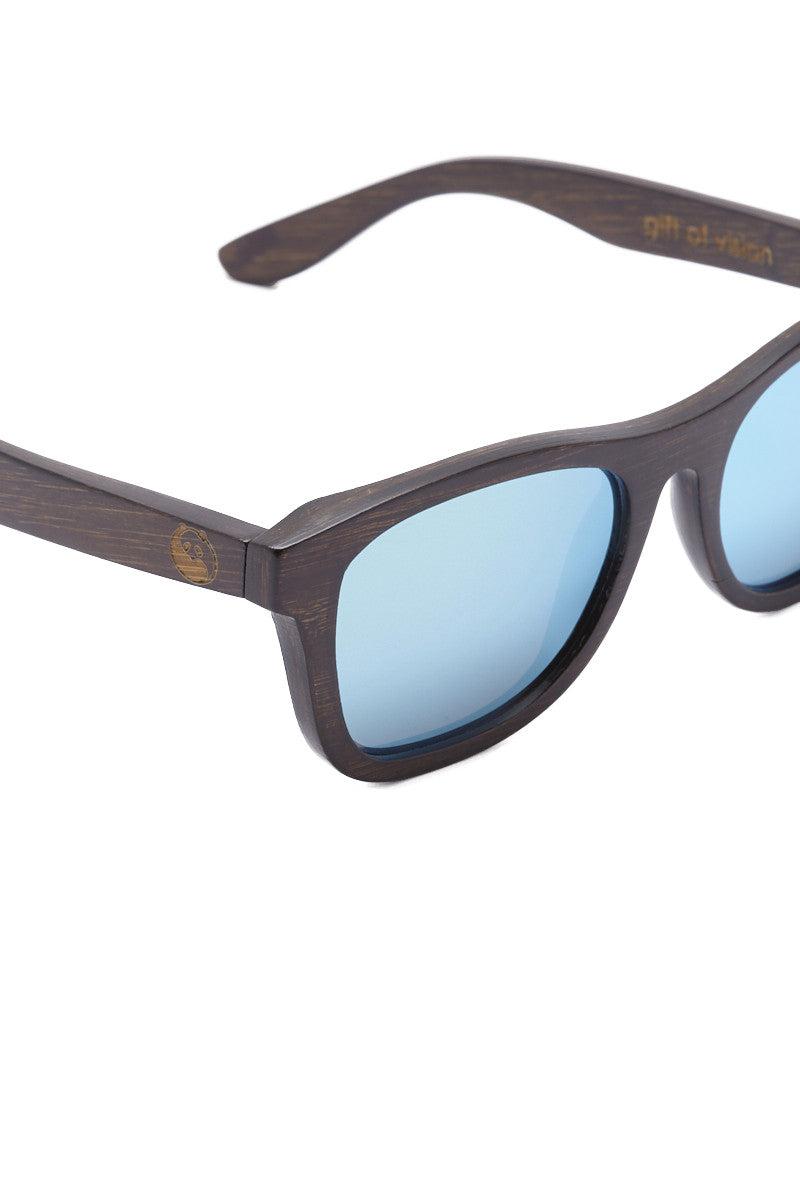 PANDA Monroe Sunglasses - Brown/Silver Sunglasses | Brown/Silver| Panda Monroe Sunglasses