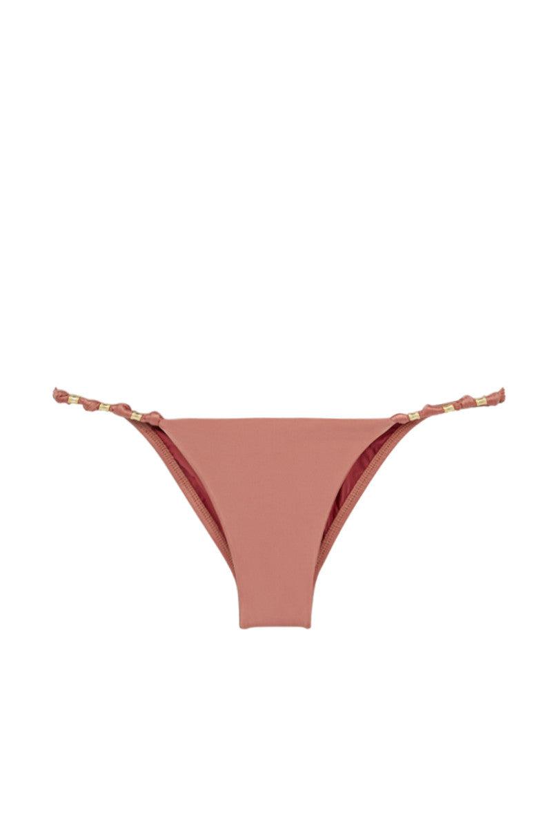 VIX SWIMWEAR Duchesse Paula Full Bottom Bikini Bottom | Duchesse Pink| Vix Swimwear Duchesse Paula Full Bikini Bottom