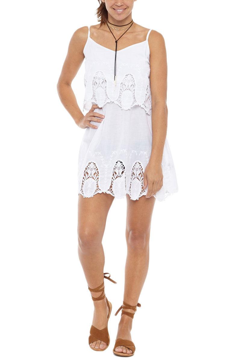 PIA ROSSINI Chicco Dress Dress | White| Piarossini Chico Dress
