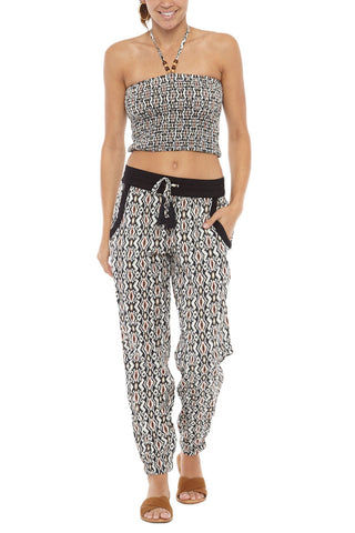 PIA ROSSINI Patagonia Beach Trousers Pants | Multicolor| Pia Rossini Patagonia Beach Trousers