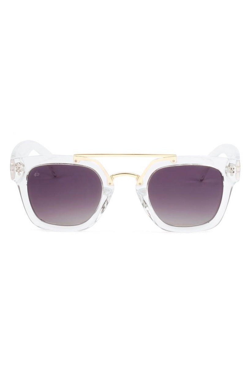 PRIVE REVAUX The Foxx - Clear Sunglasses | Clear| Prive Revaux The Foxx - Clear