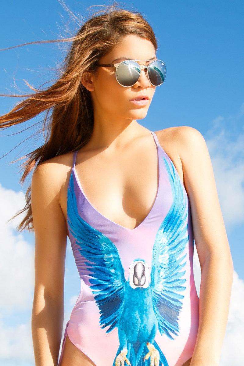 QUAY Neverland Sunglasses Sunglasses | Silver|