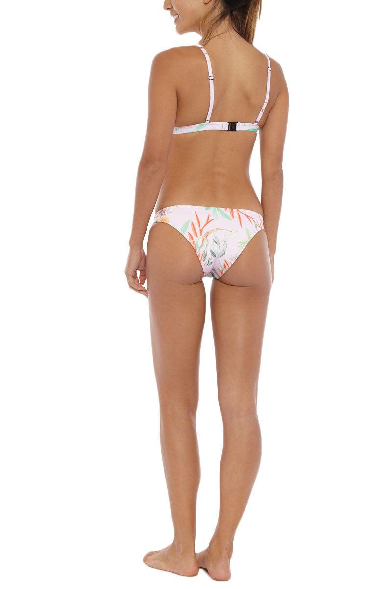 RUESS Desert Pink Floral Bottom Bikini Bottom | Pink Floral| Ruess Desert Pink Floral Bikini Bottom