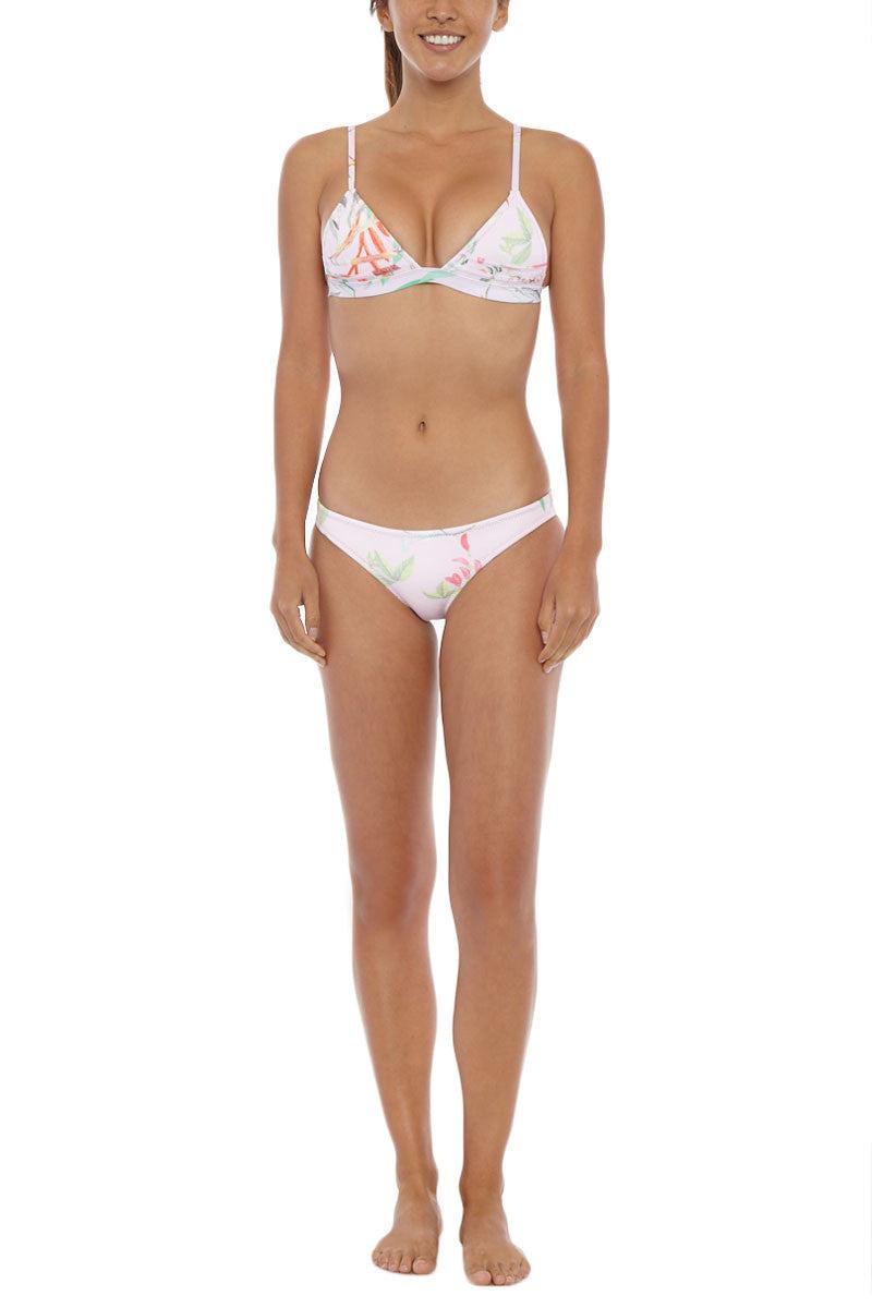 RUESS Desert Pink Floral Bottom Bikini Bottom   Pink Floral  Ruess Desert Pink Floral Bikini Bottom