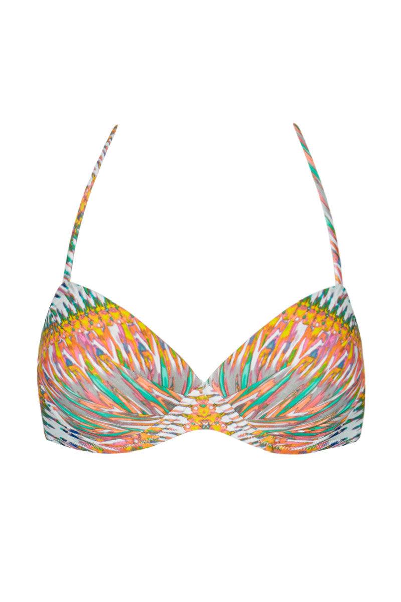 RAISINS Moonshadow Underwire Bikini Top - Sunshine Print Bikini Top   Sunshine Print  Raisins Moonshadow Underwire Bra Top