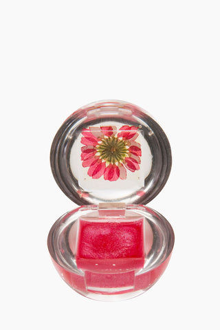 BLOSSOM Duo Lip Gloss Ball - Red Flower Beauty | Red Flower| Blossom Duo Lip Gloss Ball - Red Flower Lip gloss clear ball  Goes on clear with red tint  Fresh floral blossom Open View