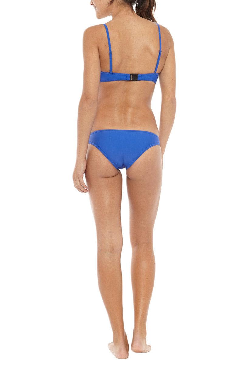 RUESS Oswego Neoprene Cheeky Bikini Bottom - Blue Bikini Bottom | Blue| Ruess Oswego Bikini Bottom