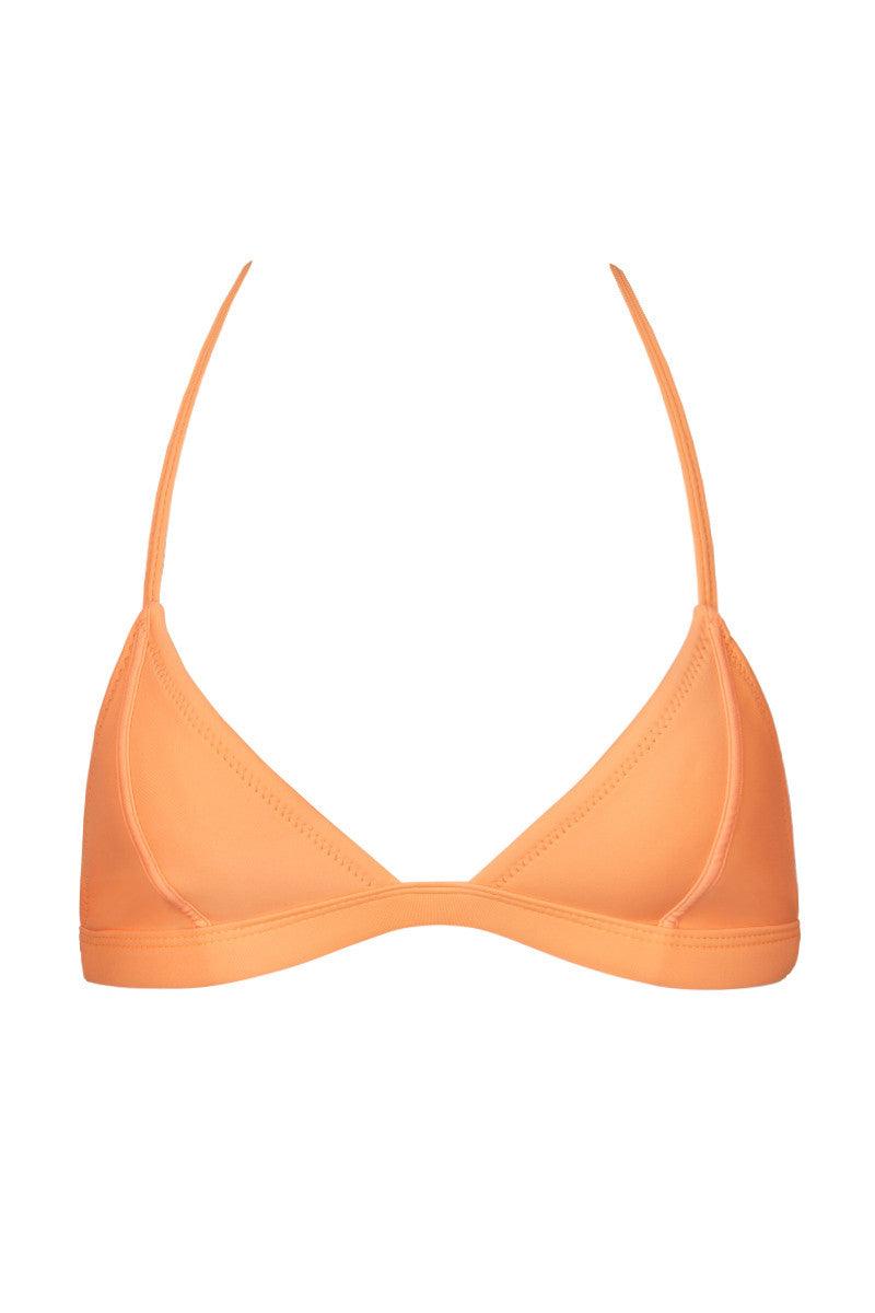 RUESS Pacific Sunset Top Bikini Top | Sunset Coral| Ruess Pacific Sunset Top
