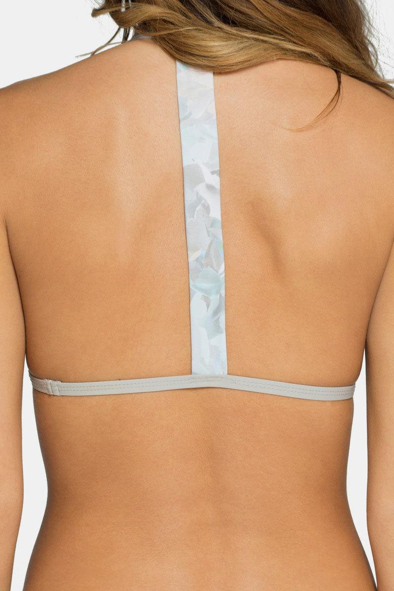 TAVIK Russo Triangle Bikini Top - Petal Blanc Bikini Top   Petal Blanc 