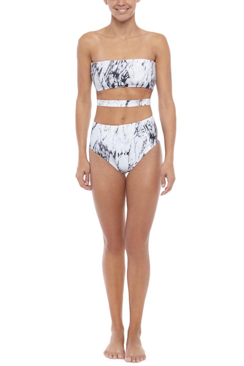 SIE SWIM Moss Bikini Bottom - Marble Bikini Bottom | Marble| SIE The Moss Bikini Bottom
