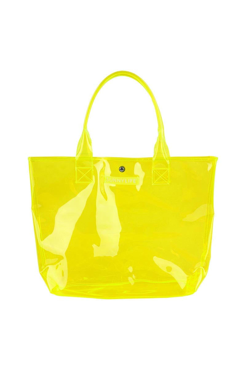 """SUNNYLIFE Market Bag - Neon Yellow Bag 