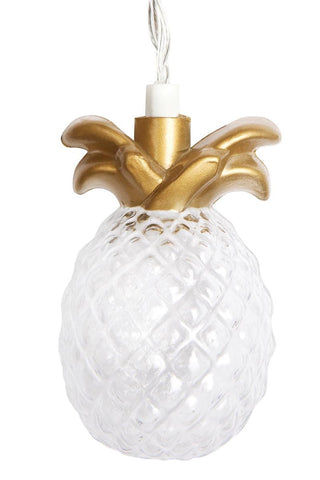 SUNNYLIFE Gold Pineapple String Lights Accessories | Sunnylife Gold Pineapple String Lights