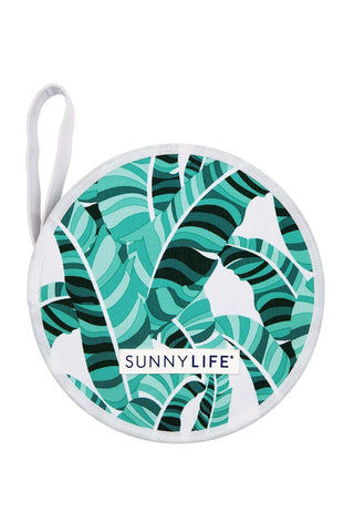 SUNNYLIFE Lovers Picnic Set - Banana Palm Accessories | Banana Palm| Sunnylife Lovers Picnic Set - Banana Palm Closed View