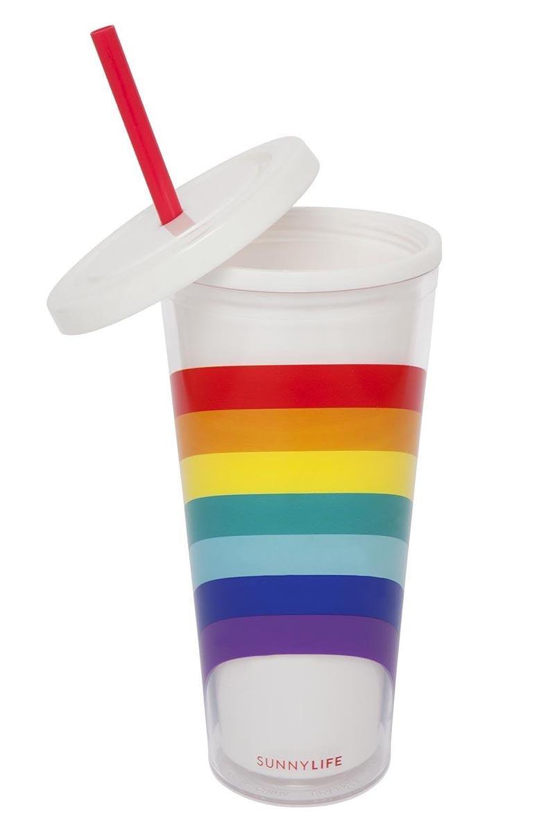 SUNNYLIFE Tumbler - Rainbow Accessories | Rainbow|Tumbler - Capacity 650ml, Double wall insulated, BPA Free