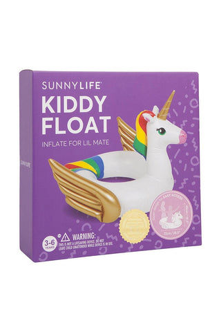 SUNNYLIFE Kiddy Float - Unicorn Pool Accessories | Unicorn| Sunnylife Kiddy Float - Unicorn Box View